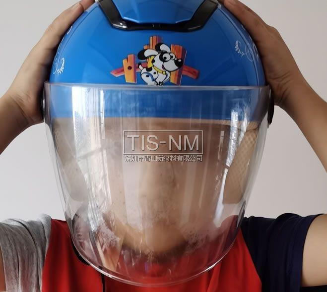 头盔面镜起雾