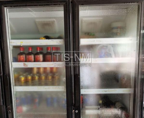 保鲜柜冷柜玻璃面板亚克力面板防雾
